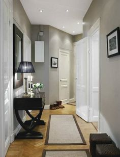 How To Decorate A Narrow Hallway