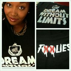 The lovely @_tinawatts with the Foolies tee! Dont Get Left Behind!   http://thefoolies.com