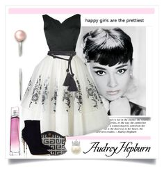 """""""Audrey Hepburn"""" by conch-lady ❤ liked on Polyvore featuring Givenchy, Paul Andrew, Lanvin, women's clothing, women, female, woman, misses and juniors"""