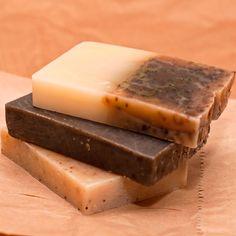 DIY soaps are a perfect holiday gift this season.  Homemade Frankincense Soap Bar