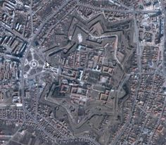 this is the fortress. I think one of the largest in the world! I mean, you can see it on a map! Catholic Diocese, High Middle Ages, Moldova, Hungary, Romania, Places To See, Castle, Walls, Map