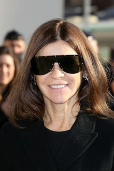 Carine Roitfeld - Arrivals at the Louis Vuitton Show