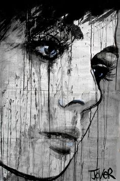 "Beautiful work by Loui Jover Saatchi Online Artist: Loui Jover; Pen and Ink, Drawing ""do you know?"""