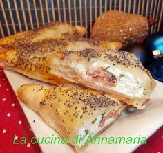 Fagottini di salmone e robiola, antipasto di Natale o Capodanno