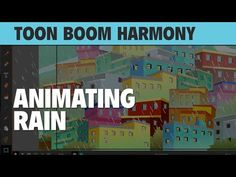 Learn How to Animate Rain in  Toon Boom Harmony 12! [REPLAY] - YouTube