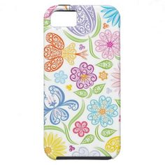 Lacy Floral Pattern iPhone 5 Case
