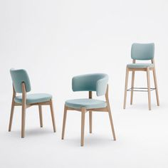 Dixie in Blue | Sandler Seating. Upholstered chairs, armchairs & barstools/counter stools with a solid wood frame.