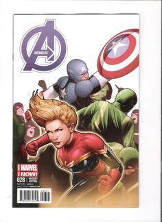 AVENGERS #28 1/ 20 Captain America/ Marvel TeamUp by John Tyler Christopher! NM http://r.ebay.com/aPyzIf