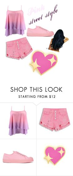 """""""Another pink outfit"""" by michellesfashioncompany on Polyvore featuring Novesta and PINTRILL"""