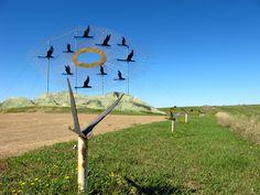 "Enchanted Highway, ""Geese in Flight"", North Dakota"