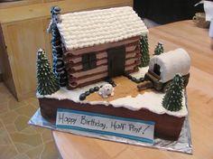 Little House on the Prairie cake