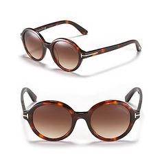 "Tom Ford's ""Carter"" round sunglasses 