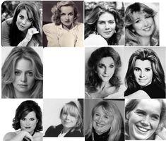"Kibbe's ""Soft Natural"" Archetypes: Natalie Wood, Carole Lombard, Goldie Hawn, Teri Garr, Kelly McGillis, Stefanie Powers, Judy Collins, Sissy Spacek, Molly Ringwald, Liv Ullman"