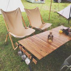 2015.10.23 . おはよーございます ♪( ´▽`) . 週末はいいお天気かな〜♬ 今日も一日がんばりましょー( ´ ▽ ` )ノ ❁ ❁ #キャンプ#camp#アウトドア#outdoor#ダルトン#dulton#ダルトンチェア#ロールトップテーブル#N氏の手仕事#N氏factory#DIY#ルミエールランタン#シェラカップ#TNF3#HTJcamper