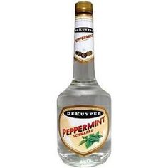 Peppermint Schnapps - Stock the bar!