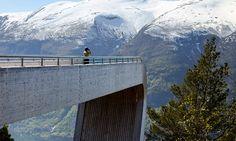 Norsko brzy otevře další moderní turistickou stezku