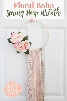 floral boho spring h