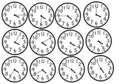 tulostettavia kellonaikoja Math Clock, Kindergarten, School, Maths, Psychology, Child, English, Psicologia, Boys