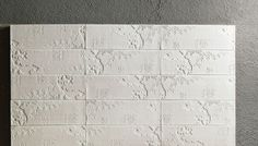 BAS-RELIEF tiles BY
