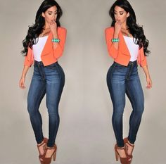 Light Blue Acid Wash High Waisted Destroyed Skinny Denim Jeans