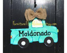 Truck door hangerSummer decor by Furnitureflipalabama on Etsy