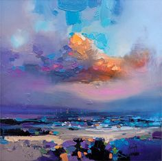 Scott Naismith - Will it rain? : Print from a painting by Scott Naismith : Contemporary Scottish Artist