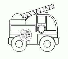 cardinal coloring pages preschool truck - photo#16