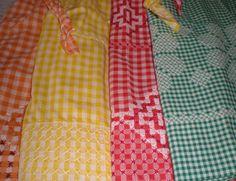 gingham-aprons