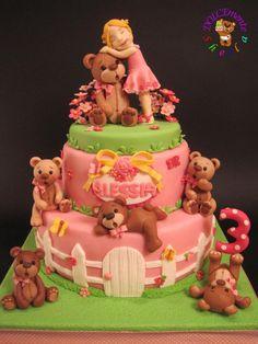Sweet bears  Teddy bear cake cakes