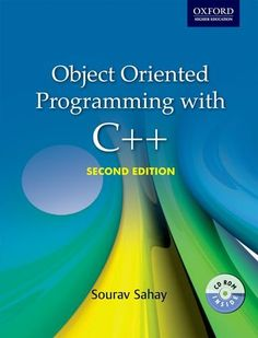 Object Oriented Programming with C++ 2nd Edition Pdf Download
