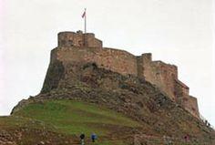 English Castle - Alnwick Castle built in the 11th century