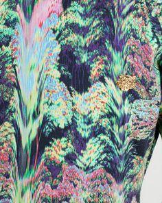 Kenzo SS13 jungle print knit