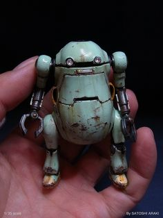 Sentinel 1:35 scale model Mechatronics WeGo by Satoshi Araki. Pinned by #relicmodels
