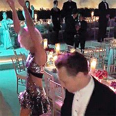 That dress look really fun to dance in