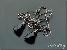 Copper chandeliers by SilverDeFactory