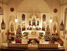 Christmas Country Church Tour stop: St. Joseph Catholic Church, Apple Creek, MO, Rural Perry County, MO
