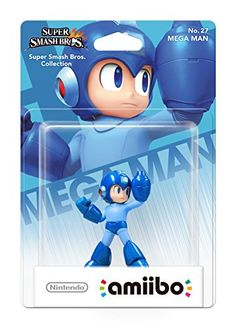(*** http://BubbleCraze.org - Like Android/iPhone games? You'll LOVE Bubble Craze! ***) Nintendo amiibo Super Smash Bros. - Mega Man (Nintendo Wii U/3DS)