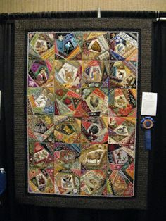 """All Creatures Large and Small by Gerlinde Hruzek - won First Place in the """"Other"""" category at the Arizona Quilters Guild show"""
