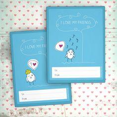 FREE PRINTABLE CLASS VALENTINE CARDS