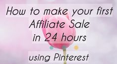 Ready to make your first affiliate sale?#affiliate #marketing