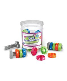 Take a look at this Learning Resources Word Construction Set today!