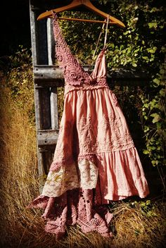 "altered couture skirts | Altered couture dress, ""....the sun knows...""free people style, girly ..."