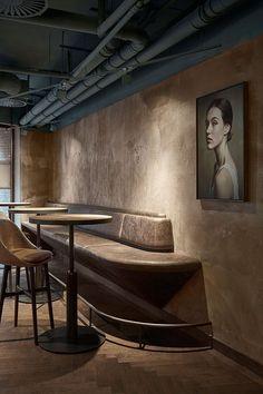 TDC: Wyers Bar & Restaurant in Amsterdam by Studio Modijefsky