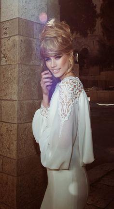 Tal Kahlon 2013 Bridal Collection - Belle The Magazine Wedding Dressses, 2015 Wedding Dresses, Bridal Dresses, Wedding Gowns, Wedding Blog, Lace Wedding, Deepika Padukone Dresses, Sophisticated Bride, Kris Jenner
