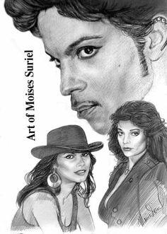 Prince & Apollonia , Vanity #blackart #prince