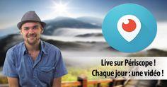 Periscope en voyage : retrouvez-moi dans une vidéo live quotidienne ! Voyages, vie nomade, indépendance, et bien plus... Periscope : le voyage en live !