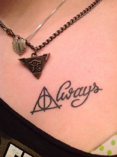 always. deathly hallows. tattoo