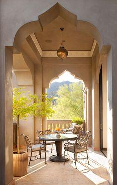 Casbah Cove: Luxury Moroccan Riad in Palm Desert - Modern Moroccan Design, Moroccan Style, Exterior Design, Interior And Exterior, Design Marocain, Morrocan Decor, Moroccan Lanterns, Morrocan House, Riad Marrakech