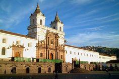 Iglesia de San Fracisco_Quito