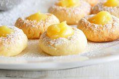 Μπισκότα με κρέμα λεμονιού